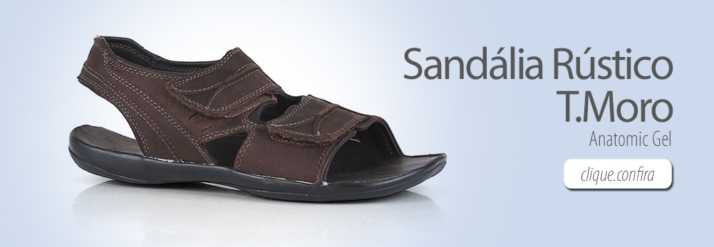 Sandália Anatomic Gel 9971 Rústico T.Moro